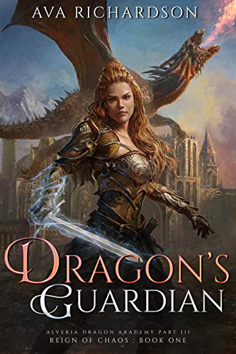Dragon's Guardian cover - book with dragons