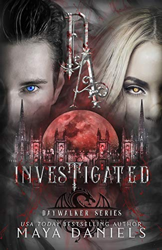 Investigated (Daywalkers Series Book 1) - cover of a book with vampires