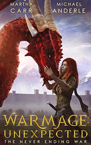 Warmage cover - book with dragons