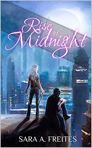 Rise of Midnight - cover of a book with vampires