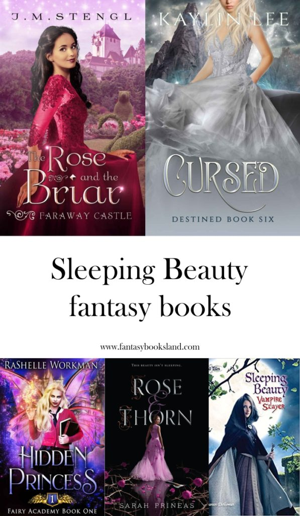 List of fantasy books with Sleeping Beauty theme - covers